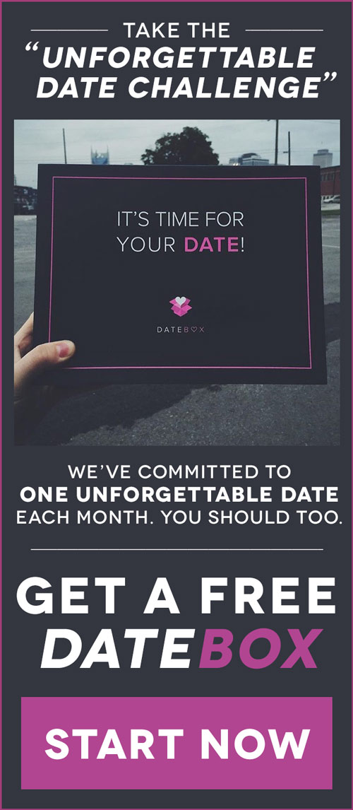 Your next date is on us when you join Datebox and use promo code FIERCEMARRIAGE