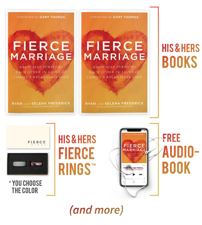 Fierce Marriage (the book) Pre-Order Bonuses
