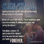An open appeal to husbands and wives.