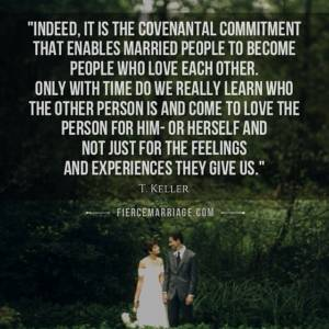 """...love the other person for him- or herself and not just for the feelings and experiences they give us."" - Tim Keller"