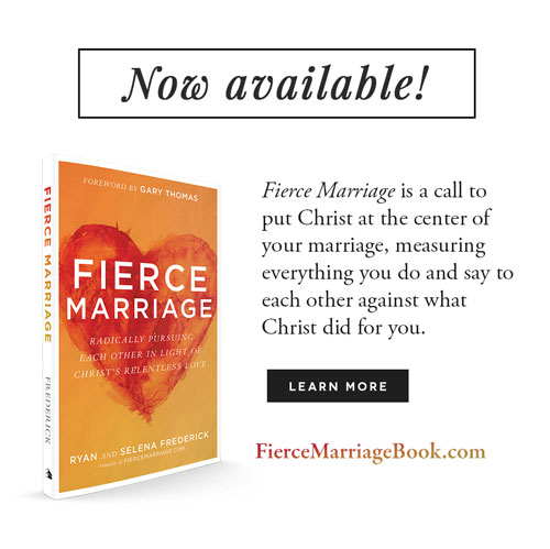 Fierce Marriage (the book) is NOW AVAILABLE